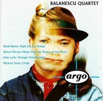BALANESCU QUARTET- argo- plays byrne, moran, lurie, torke